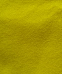 5 Light Yellow Plant Dyed Organic Felt Sheet