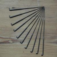 set of ten felting needles