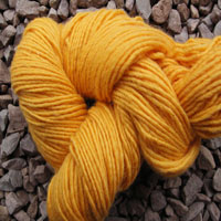 1832 Golden Yellow Pure Wool Knitting Yarn