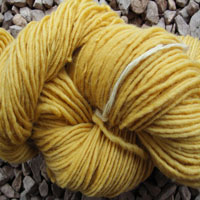 1833 Lemon Pure Wool Knitting Yarn