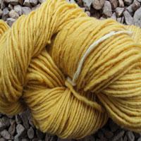1833 Lemon Pure Wool Knitting Yarn