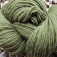 1837 Moss Green Pure Wool Knitting Yarn