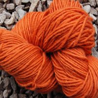 1839 Brick Pure Wool Knitting Yarn