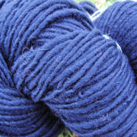 1841 Dark Blue Pure Wool Knitting Yarn