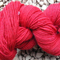 1847 Ruby Red Pure Wool Knitting Yarn