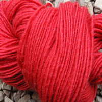 1848 Scarlet Pure Wool Knitting Yarn
