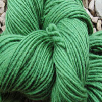 1866 Fresh Green Pure Wool Knitting Yarn