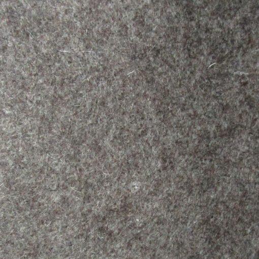 0643 Brown Melange Pure Wool Eco Felt Sheet