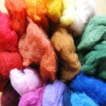 Dyed Merino Wool Fleece Bag 210g
