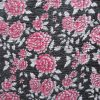 3mm Fabric On Soft Wool Felt Fuchsia