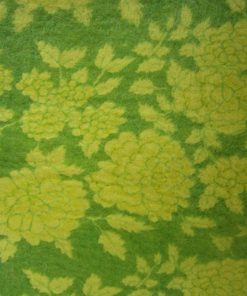 3mm Fabric On Soft Wool Felt Yellow