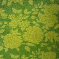 3mm Fabric On Soft Wool Felt Yellow