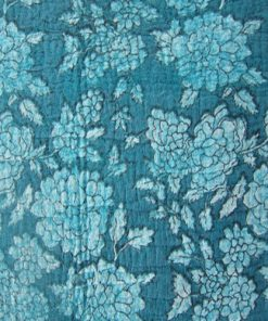 3mm Fabric On Soft Wool Felt Turquoise