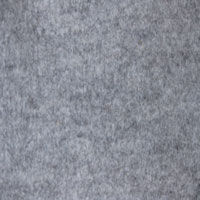 3mm Thick Pure Wool Felt Grey Melange 170 One Metre