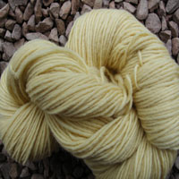 1854 Light Lemon Pure Wool Knitting Yarn