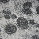 3mm Fabric On Soft Wool Felt Grey