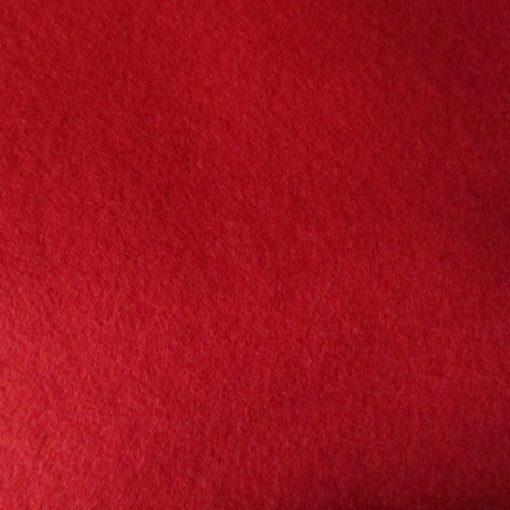 5023 Red Felt Pure Wool Sheet