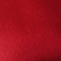 5023 Red Felt Pure Wool Sheet