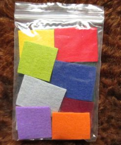 3mm Thick Pure Wool Felt Samples
