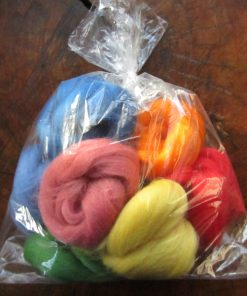South American Felting Wool Tops 100g Bag