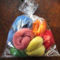 South American Felting Wool Tops 100g Bag