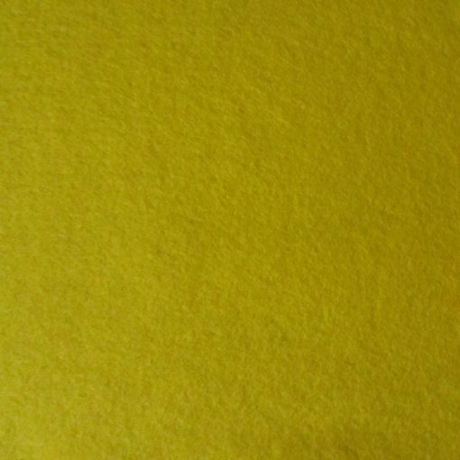 5002 Yellow Pure Wool Felt Sheet