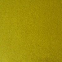 5002 Yellow Pure Wool Felt Sheet